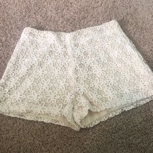 Ark & co lace shorts